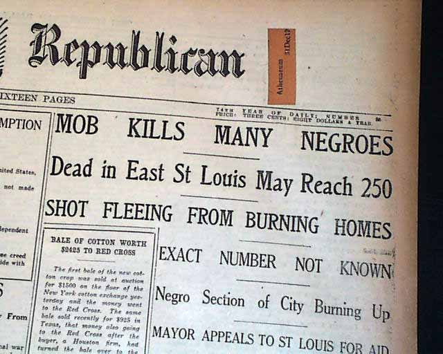 1917 East St. Louis Race Riot